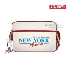 AIRLINES - BESACE RETRO BAG NEW YORK