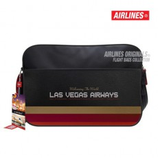 AIRLINES - BESACE RETRO BAG LAS VEGAS