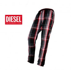 DIESEL -  PANTALON D INTERIEUR WORKYBOY NOIR/ROUGE