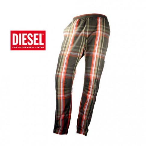 DIESEL -  PANTALON D INTERIEUR WORKYBOY KAKY/ORANGE