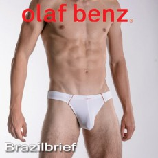 OLAF BENZ - SLIP RED1369 BRAZILBRIEF BLANC