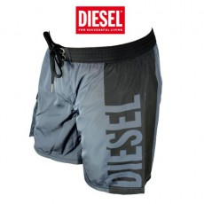 DIESEL - SHORT DE BAIN GRIS MARK-E