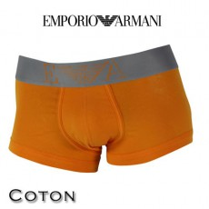 ARMANI - BOXER HOMME PARIGAMBA ORANGE 110852 4P728 03162