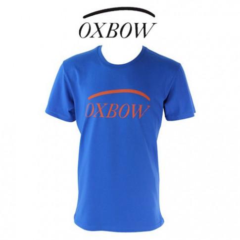 OXBOW - T SHIRT CORPO BLEU COBALT