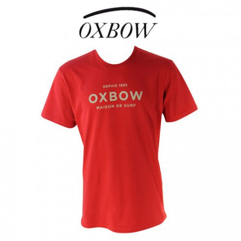OXBOW - T SHIRT PLAIN PIMENT
