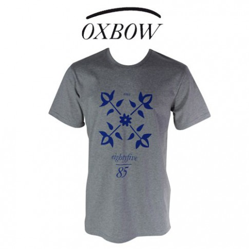 OXBOW - T SHIRT TRIAGOZ GRIS CHINE