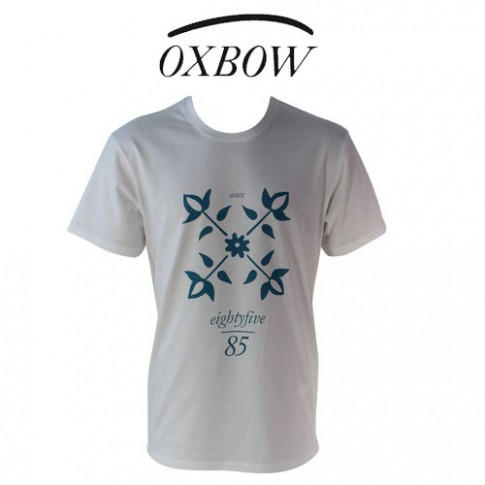 OXBOW - T SHIRT TRIAGOZ BLANC