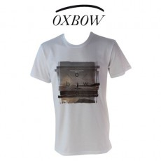 OXBOW - T SHIRT HARBOUR BLANC