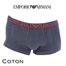 ARMANI - BOXER HOMME PARIGAMBA COTON MARINE 111866 4P540 00135