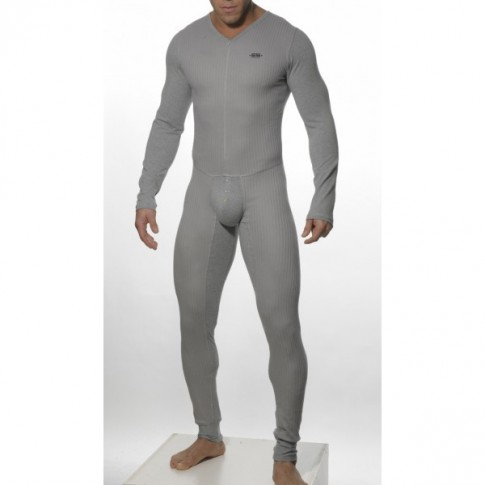 ES - 106 BODY SUIT LONG GRIS ES COLLECTION