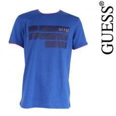 GUESS - T SHIRT EESSENTIAL STANFORD COL ROND