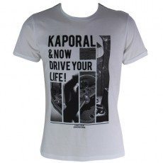 KAPORAL - T-SHIRT MANCHE COURTE LIVEE BLANC