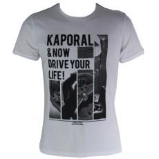 KAPORAL - T-SHIRT MANCHE COURTE LIVEE BLANC