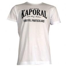 KAPORAL - T-SHIRT MANCHE COURTE SPEEDE BLANC