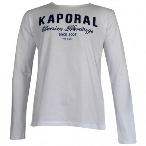 KAPORAL - T-SHIRT MANCHE LONGUE FURIOE BLANC