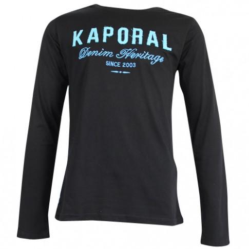 KAPORAL - T-SHIRT MANCHE LONGUE FURIOE NOIR