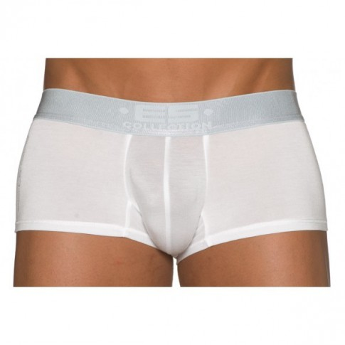 Boxer slip string homme sous vetement lingerie ES BOXER 480 METALLIC BLANC/ARGENT de ES COLLECTION