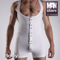 MANSTORE - BODY WORK OUT M311 BLANC