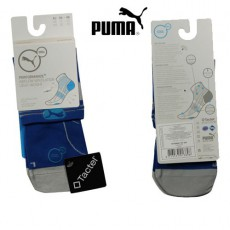PUMA - CHAUSSETTE TECHNIQUE SPORT QUARTER COOL CELL PERFORMANCE+ BLEU